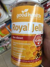 Sữa ong chúa Royal Jelly Goodhealth 365v.