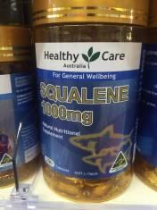 Dầu gan cá mập Healthy Care Squalene 1000mg