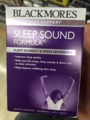 Hỗ trợ giấc ngủ Sleep Sound Formula Blackmores 30 viên