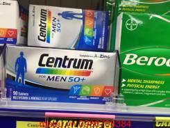 Centrum for Men 50+ Viên uống bổ sung vitamin và khoáng chất cho nam giới trên 50 tuổi