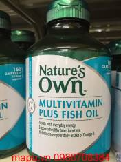 Vitamin tổng hợp + dầu cá MULTIVITAMIN PLUS FISH OIL NATURE'S OWN