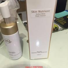 Sữa rửa mặt tạo bọt tẩy trang Skin Nutrient Cleansing + Make up remover