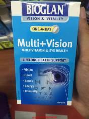 Vitamin tổng hợp + chất chống oxy hoá cho mắt và thị lực Multi + Vision Bioglan
