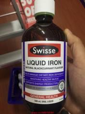 Bổ sung sắt cho cả gia đình Swisse Liquid Iron 500 ml