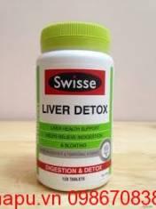 Viên uống bổ gan và giải độc - Swisse Liver Detox