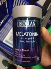 VIÊN HỖ TRỢ ĐIỀU HÒA GIẤC NGỦ Bioglan Melatonin 90 viên