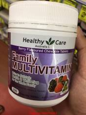 Vitamin tổng hợp Healthy care Family multivitamin 200 viên