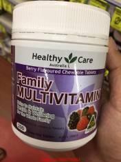 Vitamin tổng hợp Healthy care Family multivitamin 200 viên