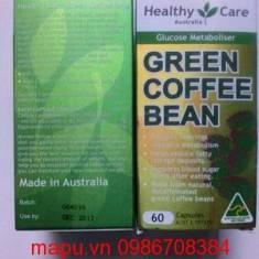 Hỗ trợ giảm cân từ thiên nhiên Healthy Care Green Coffee Bean 60 viên