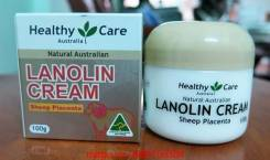 Kem nhau thai cừu HEALTHY CARE LANOLIN CREAM WITH SHEEP PLACENTA 100G