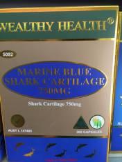 Sụn cá mập Wealthy Health 750mg 365 viên.