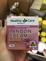 KEM MỠ CỪU LANOLIN CREAM VITAMIN E HEALTHY CARE 100G