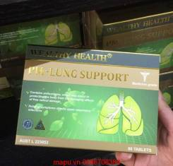 PM-LUNG SUPPORT WEALTHY HEALTH VITAMIN HỖ TRỢ CHO PHỔI.