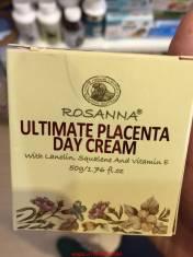 Kem dưỡng trắng da ban ngày Rosanna Ultimate Placenta Day Cream.