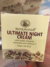 Kem dưỡng trắng da ban đêm Rosanna Ultimate Night Cream