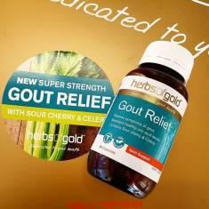 Gout Relief- Thuốc điều trị Gút số 1 Úc