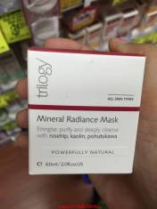 Mặt nạ Trilogy Mineral Radiance Mask 60ML