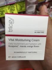 Kem dưỡng ẩm Trilogy Vital Moisturising cream 60 ml