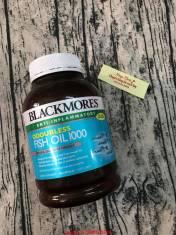 Dầu cá không mùi Blackmores Odourless Fish Oil1000mg