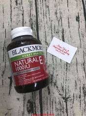 Blackmores Natural Vitamin E 1000IU 100 Viên