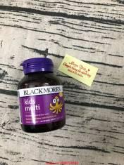 Vitamin tổng hợp cho trẻ biếng ăn - Blackmores Kids Multi 60 Viên