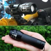 Đèn pin siêu sáng Police có chế độ zoom xa gần