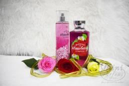Set STRAWBERRY VANILLA gồm Sữa tắm + Xịt thơm