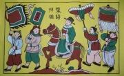 Tranh dân gian Đông Hồ khổ lớn