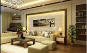 10 mẫu tranh treo phòng khách hiện đại, sang trọng