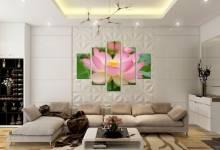 Tranh trang trí nhà chung cư HH1 Linh Đàm