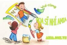 """Chương trình """"HỌA SĨ NHÍ AMIA"""" dành cho các bé từ 3-6 tuổi"""