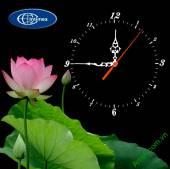 Đồng hồ tranh treo tường đẹp in Logo quà tặng doanh nghiệp - QTDN14