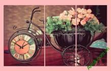 Đồng hồ tranh bánh xe thời gian Amia 303