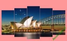 Tranh treo tường cầu càng Sydney Amia 356