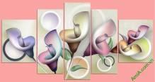 Tranh hoa Zum cách điệu nghệ thuật Amia 411