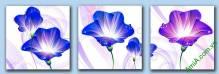 Tranh hoa treo phòng khách độc lạ Amia 414