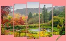 Tranh mùa thu quê hương Amia 440
