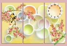 Bộ tranh mùa xuân trang trí tường cực đẹp Amia 469