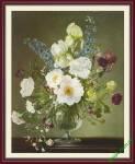 Tranh bình hoa đẹp Amia 866