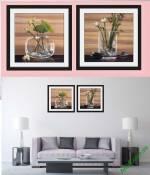 Tranh cốc hoa trang trí phòng khách Amia 875