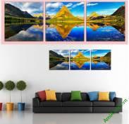 Tranh phong cảnh sông núi đẹp Amia 881