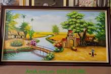 Tranh làng quê ngày mùa AmiA TSD 150