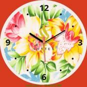 Đồng hồ tranh treo tường làm quà tặng công ty vải DH 011