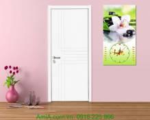 Đồng hồ tranh lịch Tết hoa phong lan AmiA TL21