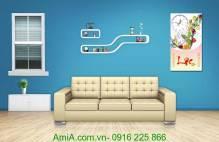 Đồng hồ tranh treo tường dạng lốc lịch AmiA TL25