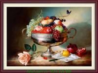 Tranh khung nghệ thuật hoa quả treo phòng ăn AmiA 1020