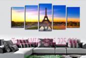 Phong cảnh đẹp nước ngoài tháp Eiffel - Tranh đẹp AmiA 1028