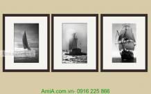 Bộ khung tranh nghệ thuật thuận buồm xuôi gió AmiA 2004