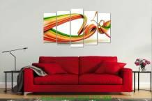 Tranh trang trí nghệ thuật đa sắc màu AmiA 1051