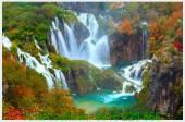 Tranh thác nước thiên nhiên đẹp AmiA 494502784